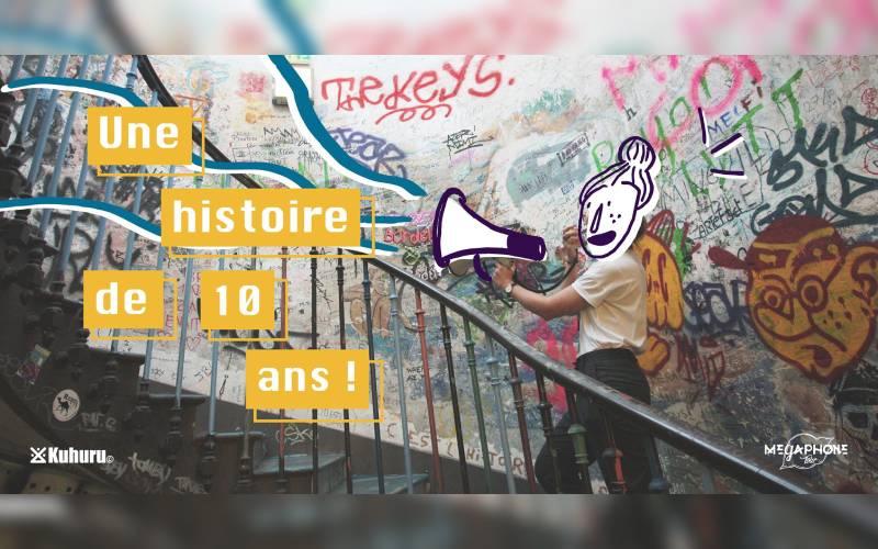 Le Mégaphone Tour fête ses 10 ans !