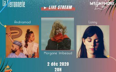 Live Stream pour la Tournée 1 le 2 déc 2020