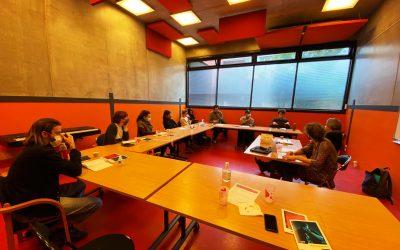 Les artistes sélectionnés 2020/2021 en formation