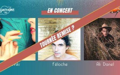 Annulation tournée 2 du Mégaphone Tour
