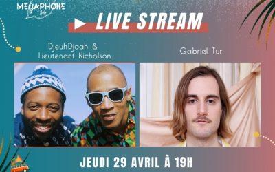 Live Stream Tournée 3 : jeudi 29 avril à 19h