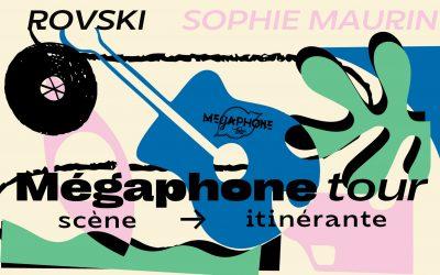 Nouveauté : la caravane du Mégaphone Tour #1 (préconfiguration)